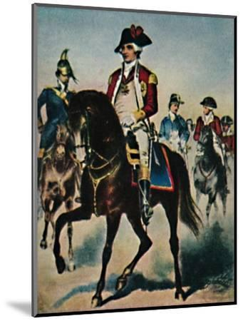 'General Steuben 1730-1794', 1934-Unknown-Mounted Giclee Print