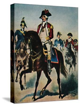 'General Steuben 1730-1794', 1934-Unknown-Stretched Canvas Print