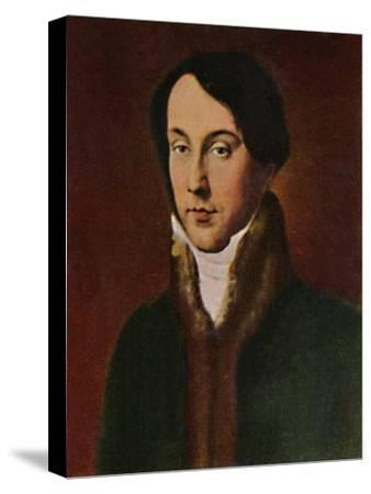 'Chopin 1810-1849. - Gemälde von Hayez', 1934-Unknown-Stretched Canvas Print