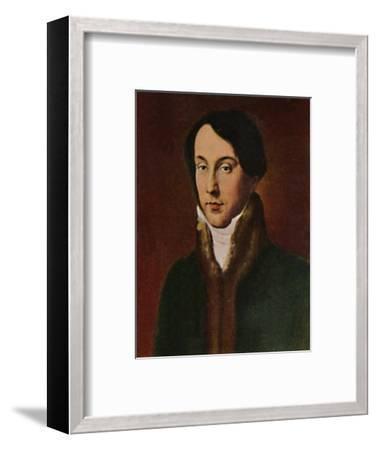 'Chopin 1810-1849. - Gemälde von Hayez', 1934-Unknown-Framed Giclee Print