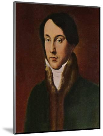 'Chopin 1810-1849. - Gemälde von Hayez', 1934-Unknown-Mounted Giclee Print