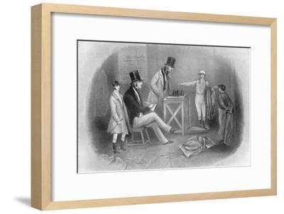 'Going to the Scale', 1911-Unknown-Framed Giclee Print