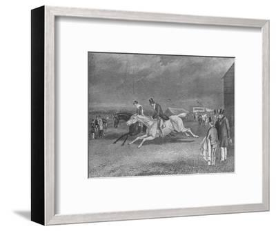 'The Canter Up', 19th century, (1911)-Unknown-Framed Giclee Print