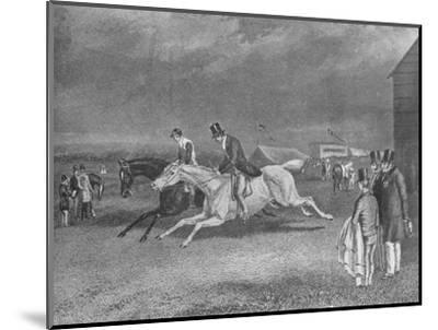 'The Canter Up', 19th century, (1911)-Unknown-Mounted Giclee Print