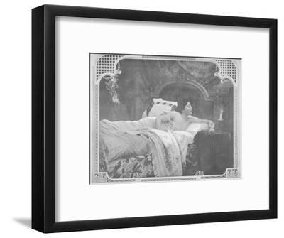 'Minuit', 1900-Unknown-Framed Photographic Print