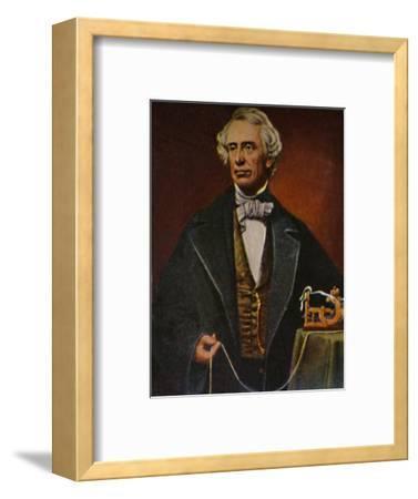 'Samuel Morse 1791-1872', 1934-Unknown-Framed Giclee Print