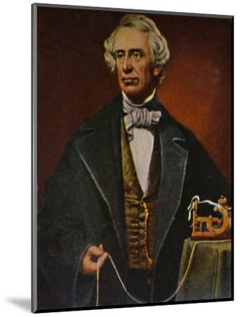 'Samuel Morse 1791-1872', 1934-Unknown-Mounted Giclee Print