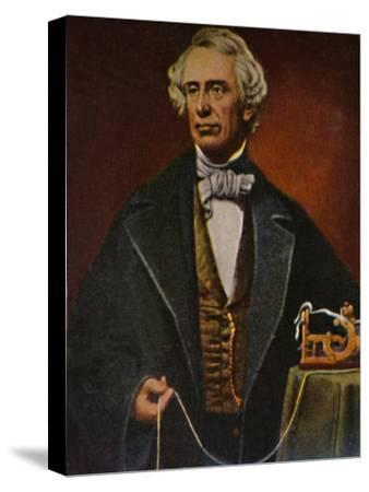 'Samuel Morse 1791-1872', 1934-Unknown-Stretched Canvas Print