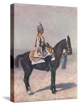 'Of the Imperial Cadet Corps', 1903-Mortimer L Menpes-Stretched Canvas Print