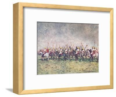 'A Distinguished Native Regiment', 1903-Mortimer L Menpes-Framed Giclee Print
