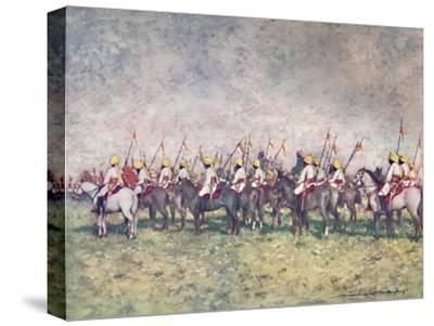 'A Distinguished Native Regiment', 1903-Mortimer L Menpes-Stretched Canvas Print