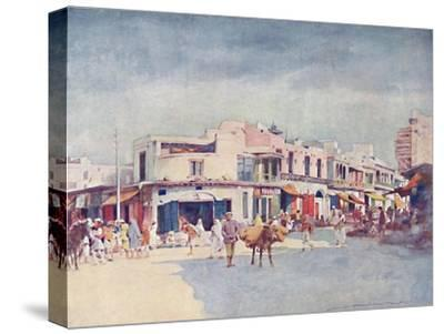 'A Street Scene', 1903-Mortimer L Menpes-Stretched Canvas Print