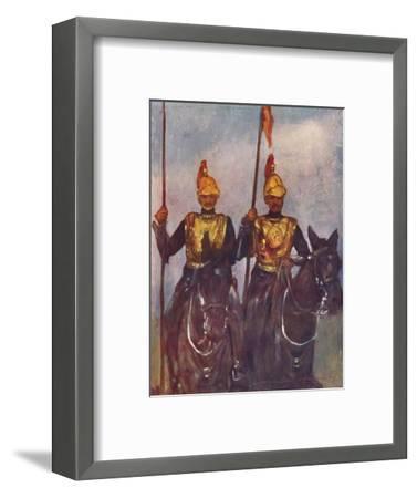 'Bodyguard of His Highness Dogra Sowar Kashmir', 1903-Mortimer L Menpes-Framed Giclee Print