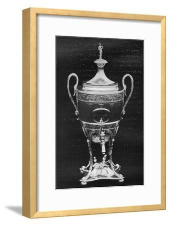 'Silver Cup, York, 1796 - Won by Hambletonian', 1911-Unknown-Framed Giclee Print