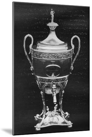 'Silver Cup, York, 1796 - Won by Hambletonian', 1911-Unknown-Mounted Giclee Print