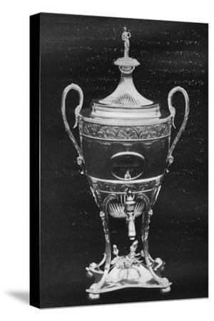 'Silver Cup, York, 1796 - Won by Hambletonian', 1911-Unknown-Stretched Canvas Print