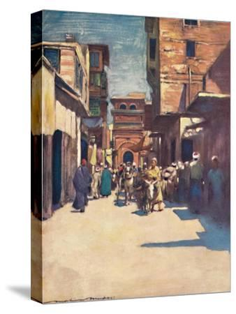 'Cairo', 1903-Mortimer L Menpes-Stretched Canvas Print