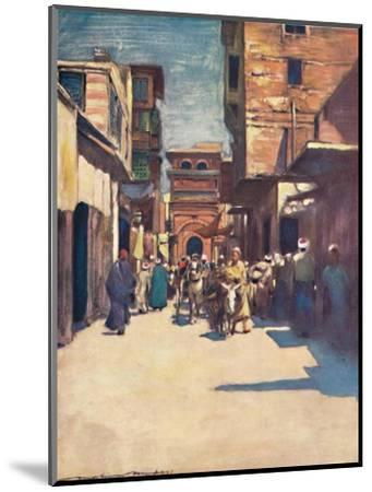 'Cairo', 1903-Mortimer L Menpes-Mounted Giclee Print