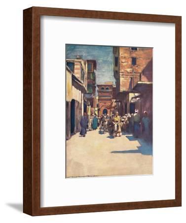 'Cairo', 1903-Mortimer L Menpes-Framed Giclee Print