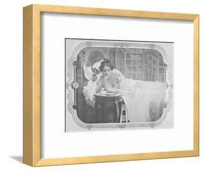 'Le Reconfort', 1900-Unknown-Framed Photographic Print