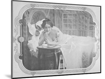 'Le Reconfort', 1900-Unknown-Mounted Photographic Print