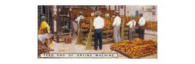 'Feed End of Drying Machine', 1926-Unknown-Stretched Canvas Print