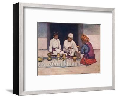'A Shan Chief and his Wife', 1903-Mortimer L Menpes-Framed Giclee Print