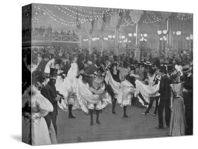 'Le Bal Du Moulin-Rouge', 1900-Unknown-Stretched Canvas Print