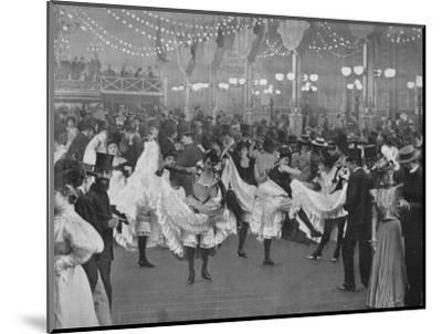 'Le Bal Du Moulin-Rouge', 1900-Unknown-Mounted Photographic Print