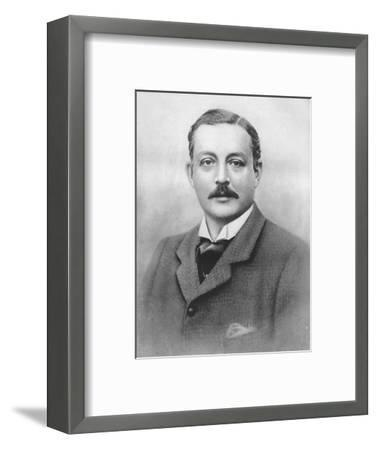 'The Duke of Portland', 1911-Unknown-Framed Photographic Print