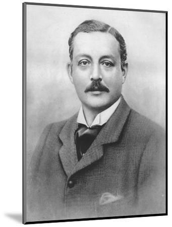 'The Duke of Portland', 1911-Unknown-Mounted Photographic Print