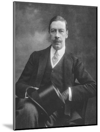 'Mr. Noel Fenwick', 1911-Unknown-Mounted Photographic Print
