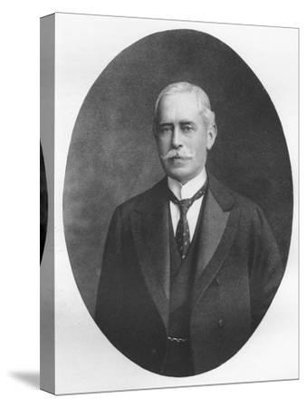 'Sir R. Waldie Griffith', 1911-Unknown-Stretched Canvas Print