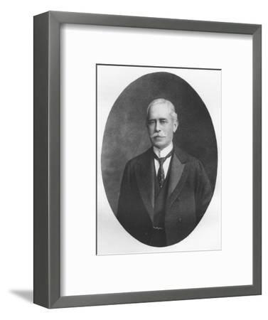 'Sir R. Waldie Griffith', 1911-Unknown-Framed Giclee Print