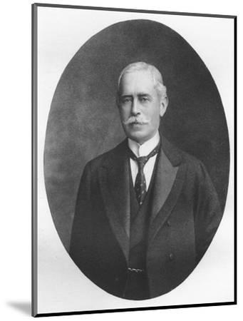 'Sir R. Waldie Griffith', 1911-Unknown-Mounted Giclee Print