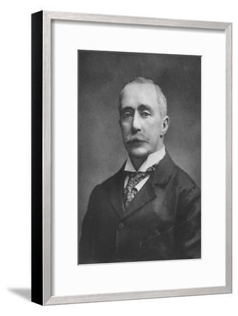 'The late Sir Daniel Cooper', 1911-Unknown-Framed Giclee Print