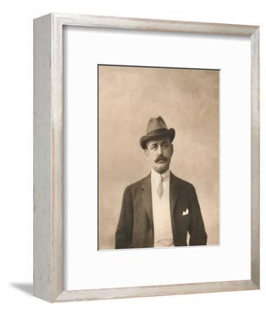 'Mr. L. Newmann', 1911-Unknown-Framed Giclee Print