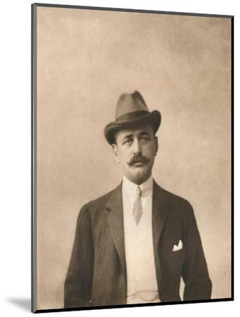 'Mr. L. Newmann', 1911-Unknown-Mounted Giclee Print