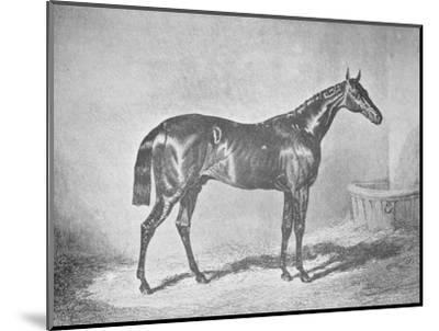 'Charles XII, Winner of the St. Leger' 1839, (1911)-Unknown-Mounted Giclee Print