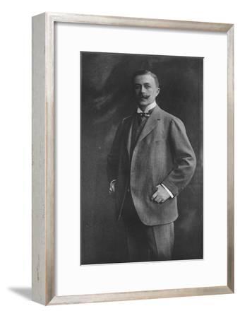 'Mr. A. M. Singer', 1911-Unknown-Framed Giclee Print