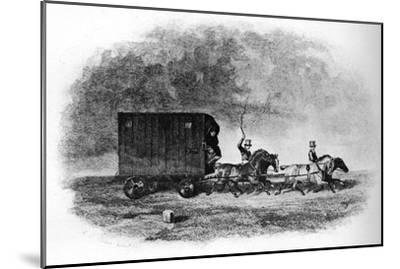 'The Caravan', 19th century, (1911)-Unknown-Mounted Giclee Print