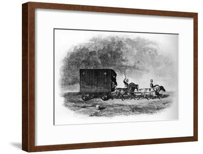 'The Caravan', 19th century, (1911)-Unknown-Framed Giclee Print