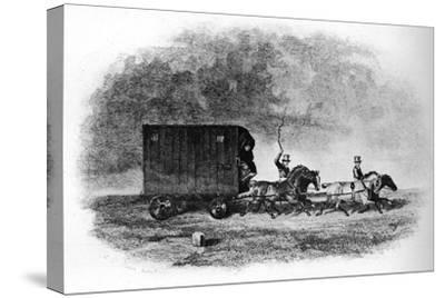 'The Caravan', 19th century, (1911)-Unknown-Stretched Canvas Print
