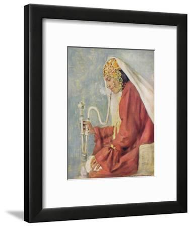 'A Singing Girl', 1903-Mortimer L Menpes-Framed Giclee Print