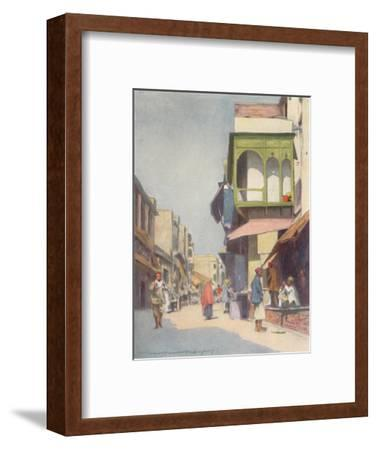 'A Narrow Thoroughfare', 1905-Mortimer Luddington Menpes-Framed Giclee Print