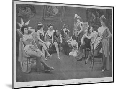 'Le Foyer Des Artistes', 1900-Unknown-Mounted Photographic Print