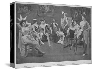 'Le Foyer Des Artistes', 1900-Unknown-Stretched Canvas Print