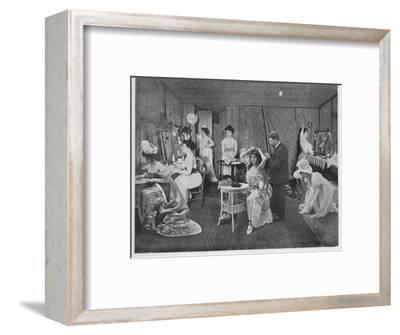 'L'Habillage Dans Les Loges', 1900-Unknown-Framed Photographic Print