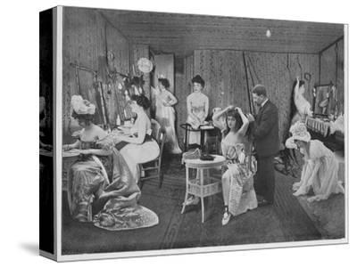 'L'Habillage Dans Les Loges', 1900-Unknown-Stretched Canvas Print