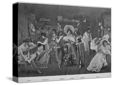 'Sous Les Armes', 1900-Unknown-Stretched Canvas Print
